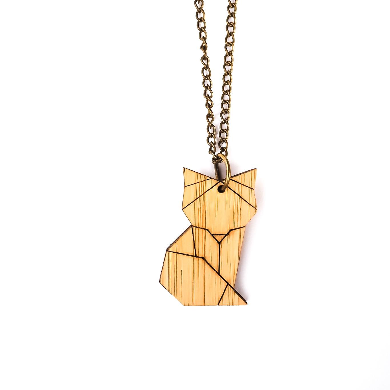 4fd628297 Dřevěný náhrdelník Liška origami | Outlet obuvi a oblečení Adidas ...