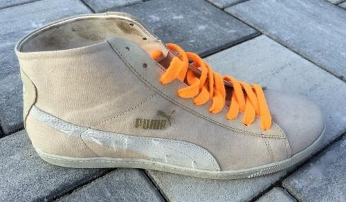 Boty Puma Glyde Canvas Washed Mid EU 44