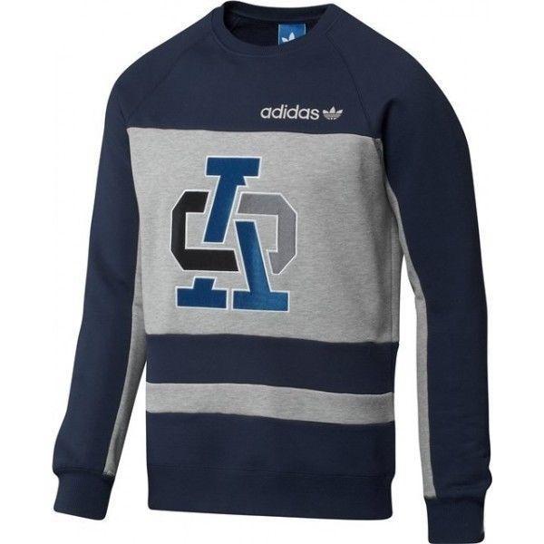 21a7b87345 Mikina Adidas Originals ST Hustle Crew vel. M