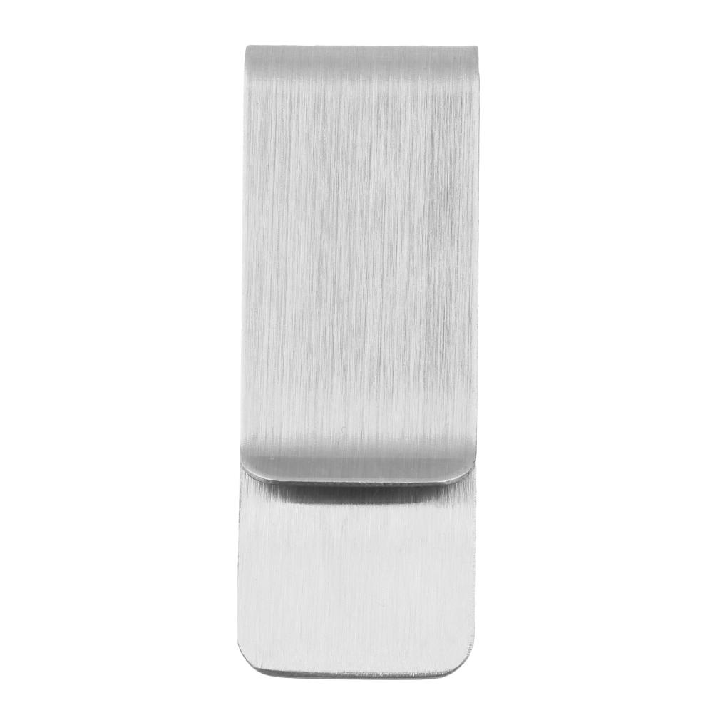 Ocelová stříbrná spona na peníze LMK ab8423f8128
